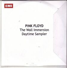 """PINK FLOYD """"The Wall Immersion Daytime Sampler"""" 4 Track Promo CD"""