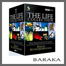 The Life Collection : David Attenborough - 24 Disc BBC DVD Box Set R4
