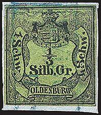 Oldenburg Nr. 1 gestempelt
