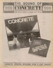 999 LP advert 1981