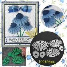 Flower Metal Cutting Dies Stencil DIY Scrapbooking Album Paper Card Embossing