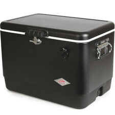 Coleman 54 Quart (85 cans) Steel-Belted Cooler, Black