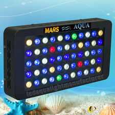 Dimmable 165W LED Aquarium Light Full Spectrum Coral Reef Tank Marine Salt Water