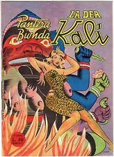 fumetto PANTERA BIONDA ANNO 1954 COLLANA JUNGLA AVVENTUROSA NUMERO 9 DA EDICOLA