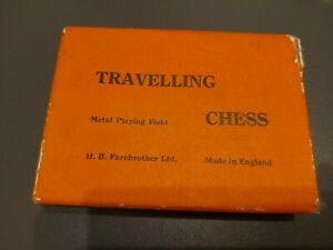 Travelling Chess - H. B. Farebrother, London