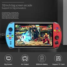7 inch LCD Screen X19 Retro Video Game console Handheld GameBoy 16GB 3000mAh