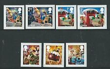 Great Britain 2010 Christmas Wallace And Gromit Self Adhesive Set Of 7 Un.Mint