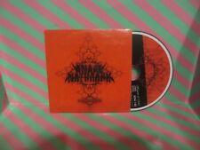ANAAL NATHRAKH   Eschaton CD PROMO SLIPSLEEVE