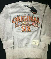 Old Time Hockey Hockey Crewneck Sweatshirt Original Six Men's Size Small-XXL NHL