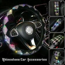 Car Accessories Universal Sparkle Luxury Steering Wheel Cover Shiny Rhinestone