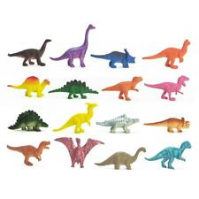 16pcs/set Dinosaurs Animals Toys Hobbies Mini Small Plastic Figures X-mas ED