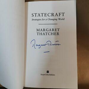 SIGNED Margaret Thatcher: Statecraft. HB published 2002 by Harper Collins