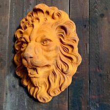 Fuente de Pared En Cabeza León Diseño, Gárgola Antiguo Óptica Hierro Fundido