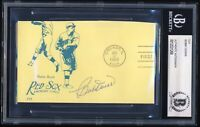 Bobby Doerr Cut Autograph Boston Red Sox HOF 9x All Star Hall Of Fame Auto BX1