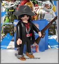 Playmobil 5460 Figures Boys Serie 5 # 6 Cowboy Bandit Mantel Gewehr Sporen  NEU