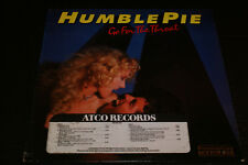 Humble Pie Go For The Throat LP 75 Rockefeller address promo time stamp Record