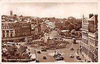 Bournemouth, The Square, Auto Cars, Voitures, Bus, Statue, Monument 1950s
