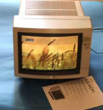 "SONY KX-14CP1 MONITOR 14"" PROFESSIONALE + MANUALE ORIG."