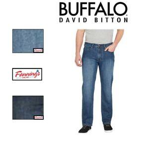 NEW Buffalo David Bitton Jackson-X Denim Straight Stretch Mens Jeans VARIETY J41
