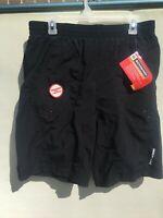 Schwinn LARGE Mountain Bike MTB Shorts Black Loose Baggy New w/ FREE SHIPPING