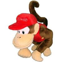 "Nintendo Official Super Mario Diddy Kong Plush, 6"" New"