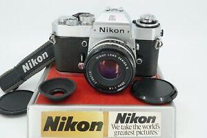 CLASSIC NIKON EL2 35MM SLR W/SERIES E 50MM f/1.8 LENS **TECHNICIAN REFURBISHED**
