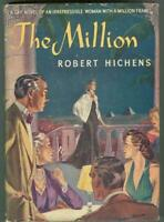 The Million by Robert Hichens 1941 1st edition with Dust Jacket Vintage Fiction