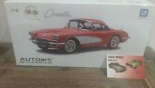 1 18 AUTOart Chevrolet Corvette (signet Red) 1958
