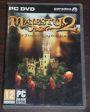 PC DVD. Majesty 2 The Fantasy Kingdom Sim. Paradox Interactive.
