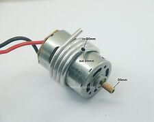 067B: 1x 540 Brushed Motor Rpm 10000 S5mm w/Water Cooling Coil for DIY RC Boat