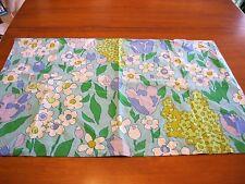 Vintage Fruit of The Loom Flower Power 100% Cotton Standard Size Pillowcase