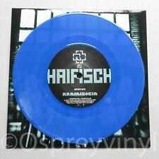 "Rammstein – Haifisch 7"" Limited edition Numbered Blue Vinyl   Universal Music "