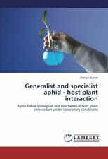 Generalist and Specialist Aphid - Host Plant Interaction, Reham 9783659582035,