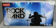 New Nintendo Wii Rock Band Wireless Drum Kit RockBand Drums Set Rare
