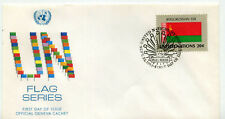 United Nations #404 Flag Series, Byelorussian Ssr, Official Geneva Cachet Fdc