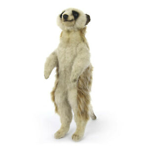 Standing Meerkat Hansa Realistic Animal Soft Plush Toy 33cm H **FREE DELIVERY**