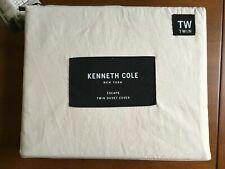 Kenneth Cole Escape one Twin Duvet Cover Cotton Stone
