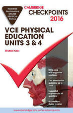 Cambridge Checkpoints VCE Physical Education Units 3 and 4 2016 and Quiz Me Mor…