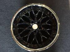 RPM Wheels style 505 18x9 Black center chrome lip 5x4.5 et 38 hub bore 67.1
