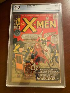X-men #2 (1963) 1st Vanisher PGX 4.0 Not cgc