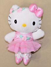 """Sanrio Hello Kitty Ballerina Dance Pink Tutu Partner 8"""" Plush Stuffed Animal"""