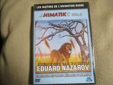 """DVD PROMO """"ANIMATIKC, VOLUME 2 : Eduard NAZAROV"""" courts metrages animation Russe"""