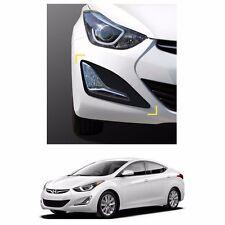 New Fog Lamp Matt Black Cover Molding Set for Hyundai Elantra 2014-2016