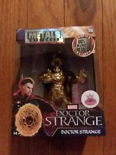 "JADA TOYS METALS DIE CAST MARVEL ""DOCTOR STRANGE"" METALLIC GOLD FIGURE"