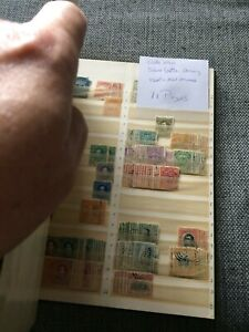 Costa Rica - big lot old and older from 11 pages in book - used+MH+mint+MNH