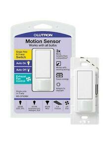 Maestro 5 Amp Single-Pole or Multi-Location Motion Sensor Switch, White