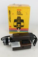 UNTESTED - Vintage Kodak XL55 Super8 Movie Camera Ektar Zoom Lens With Box