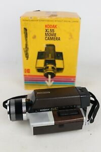 UNTESTED - Vintage Kodak XL55 Super8 Movie Camera Ektar Zoom Lens With Box