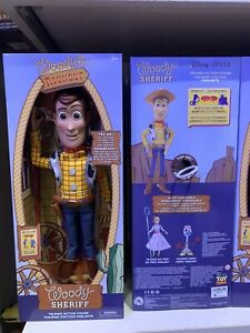 'Woody' The Sheriff Toy Story 'Round Up' Talking Action Figure Disney Parks
