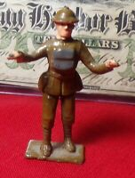 WORLD WAR 1 PRE/POST WAR CAST TOY SOLDIER BRITISH MAKERS BAND CONDUCTOR!!!